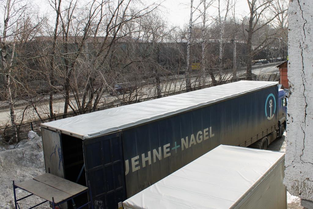 Новая крыша на полуприцеп Koegel